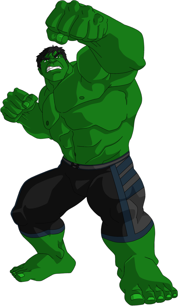 png royalty free library Clip art the st. Hulk clipart.