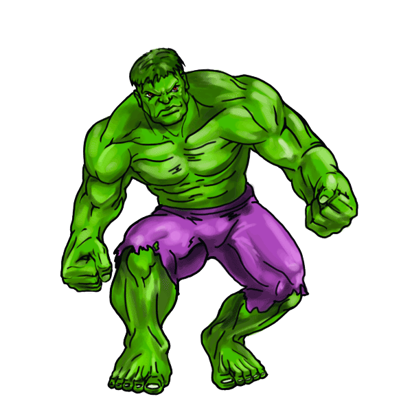 clipart transparent library Hulk clipart. Step by free on