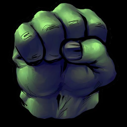jpg royalty free download Fist . Incredible hulk clipart
