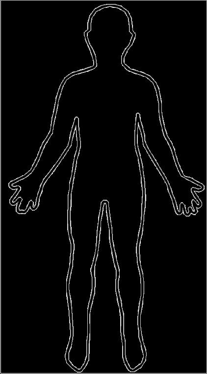 clip transparent stock transparent body white #105260011