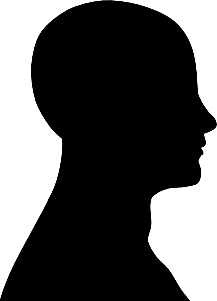 banner freeuse Head Silhouette Clipart at GetDrawings