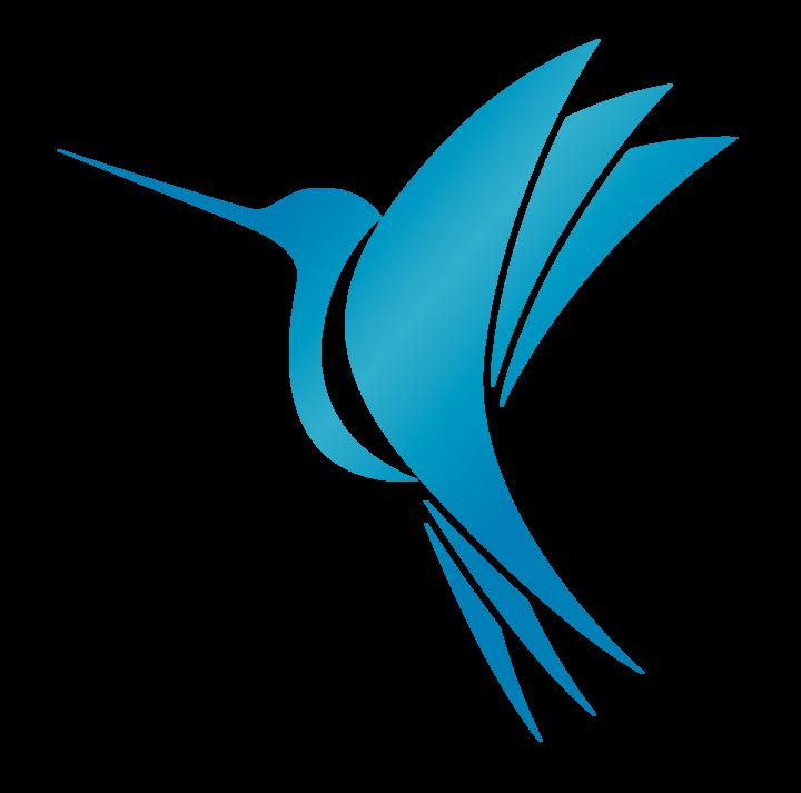 png royalty free Blue Hummingbird Coffee