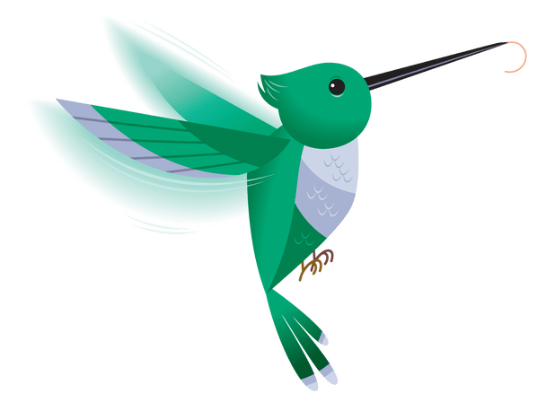 picture transparent download Hummingbird Clipart real