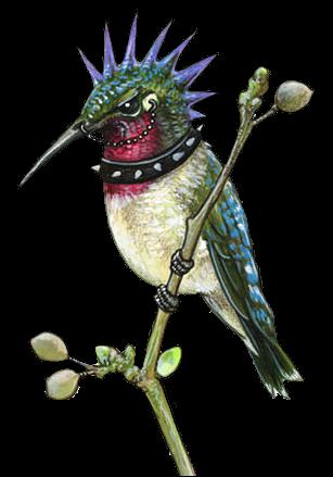 clip transparent stock Humming Bird Tattoos