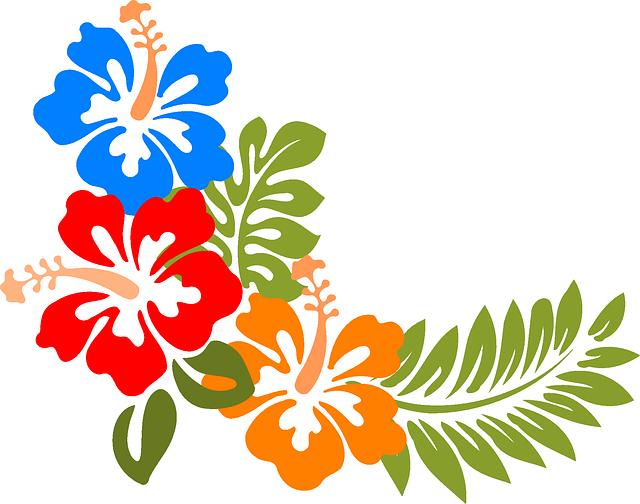 banner library Hawaiian vector. Imagem relacionada cer mica.