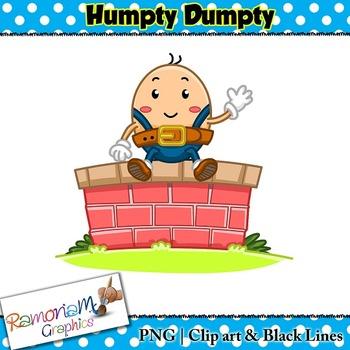 svg free stock Humpty dumpty clipart clip art.