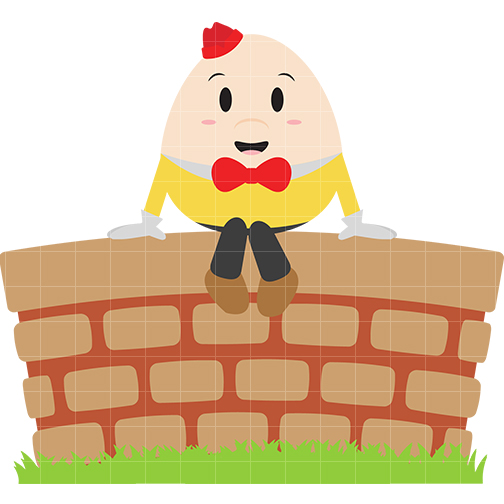jpg transparent library Free download on . Humpty dumpty clipart clip art.