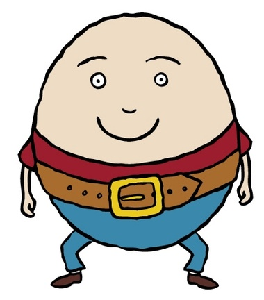 jpg transparent library Humpty dumpty clipart clip art. Free download on .
