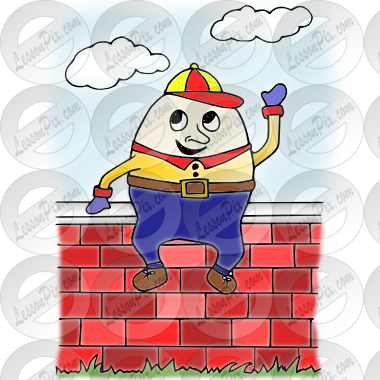 clip art royalty free library Picture for classroom therapy. Humpty dumpty clipart clip art.