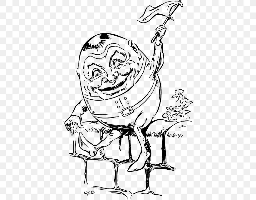 graphic freeuse stock Nursery rhyme all the. Humpty dumpty clipart draw
