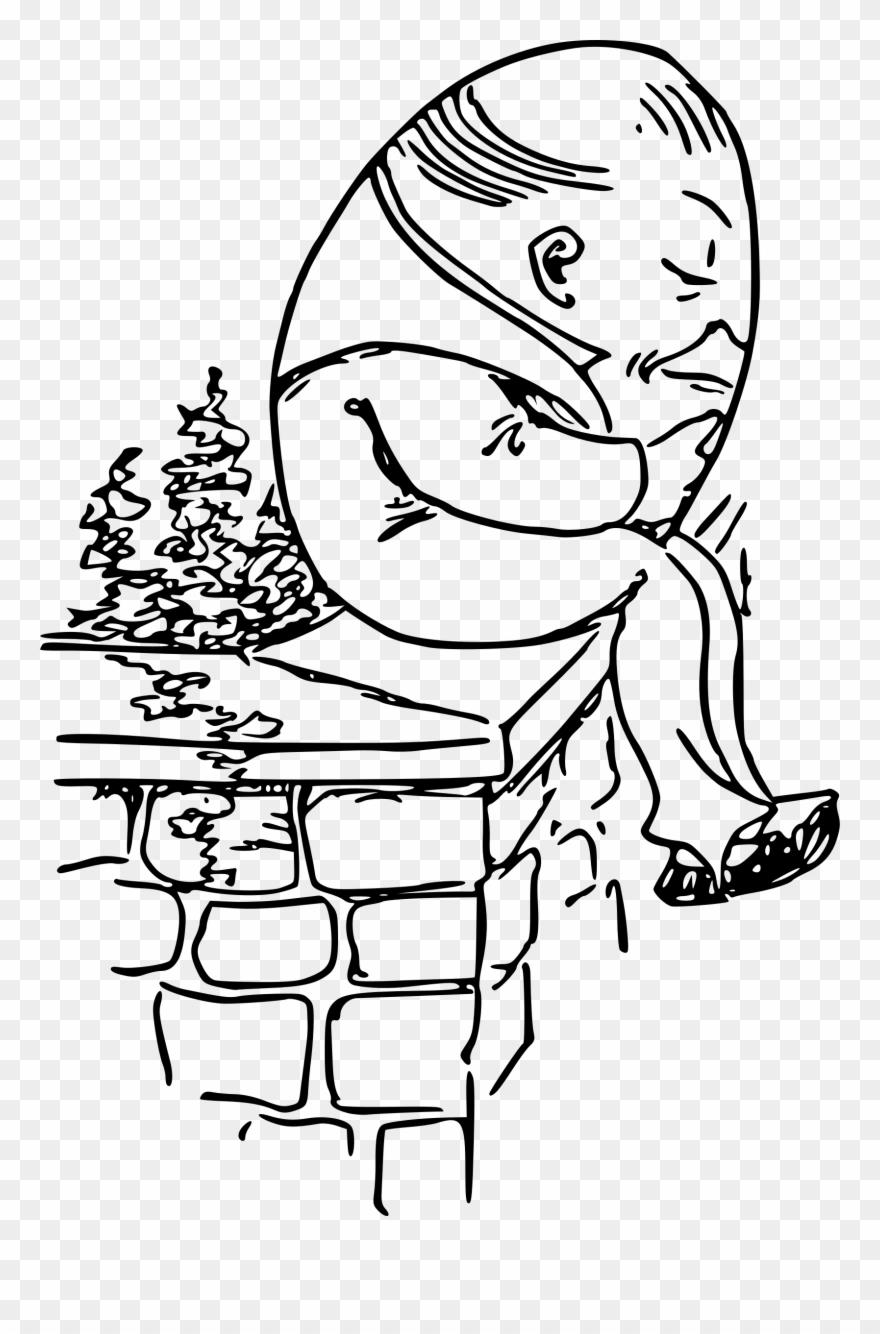 clipart free stock Humpty dumpty clipart draw. Big image sat on