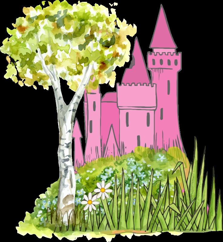 clip freeuse stock Fairy Tale clipart village
