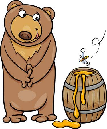 image royalty free download Portal . Hungry bear clipart