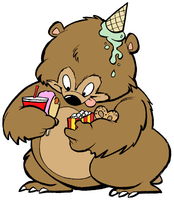 graphic transparent stock Durkinworks . Hungry bear clipart