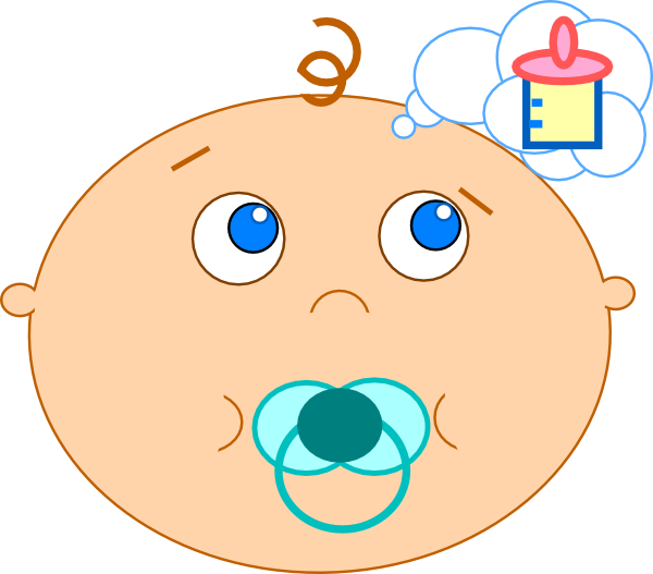 graphic freeuse stock Baby final clip art. Hungry clipart