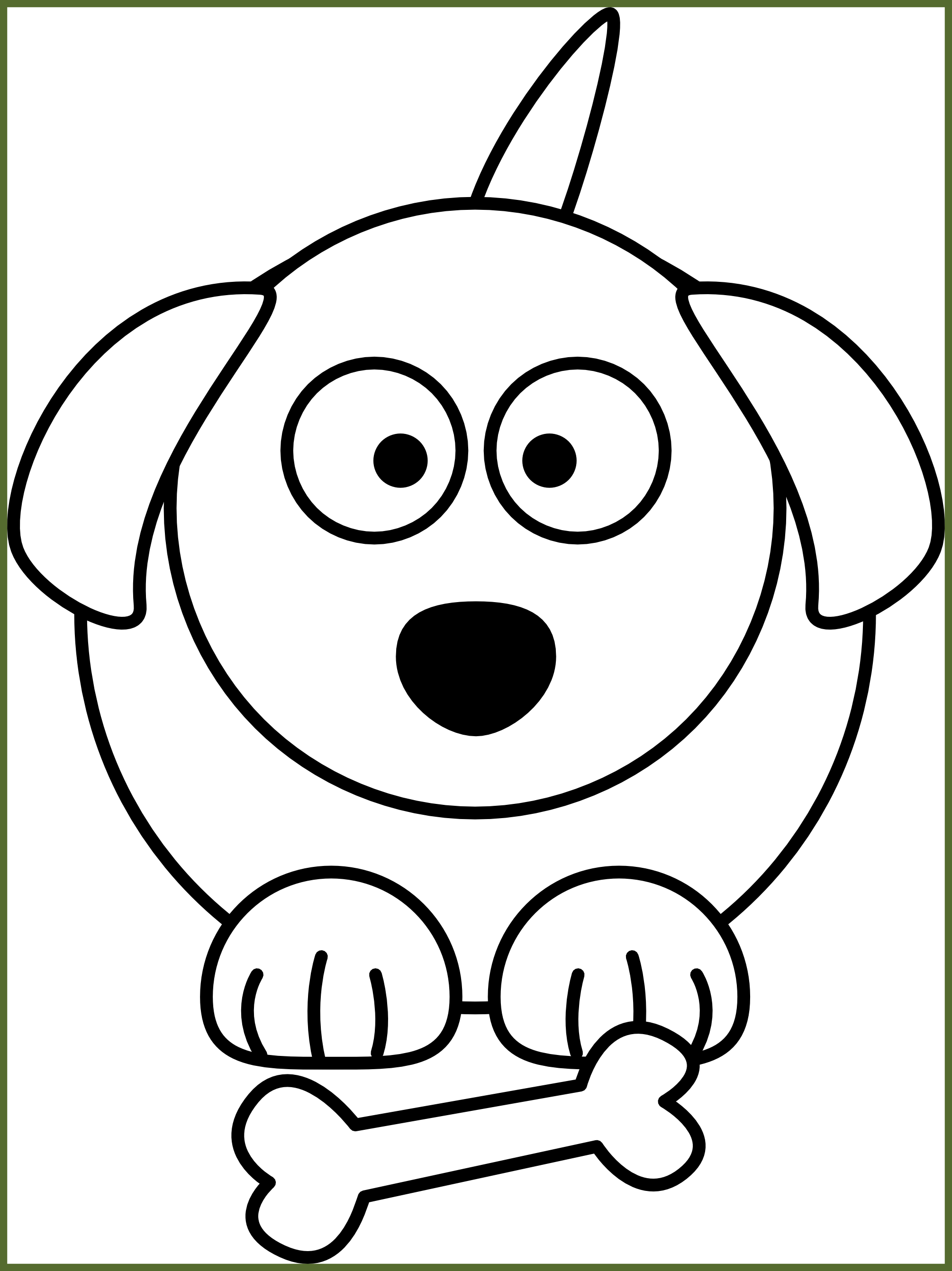 graphic black and white library Best Dog Clipart Black And White Clip Art For Cute Trends Style dog