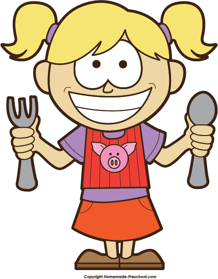 banner free stock hungry girl clipart #64070820