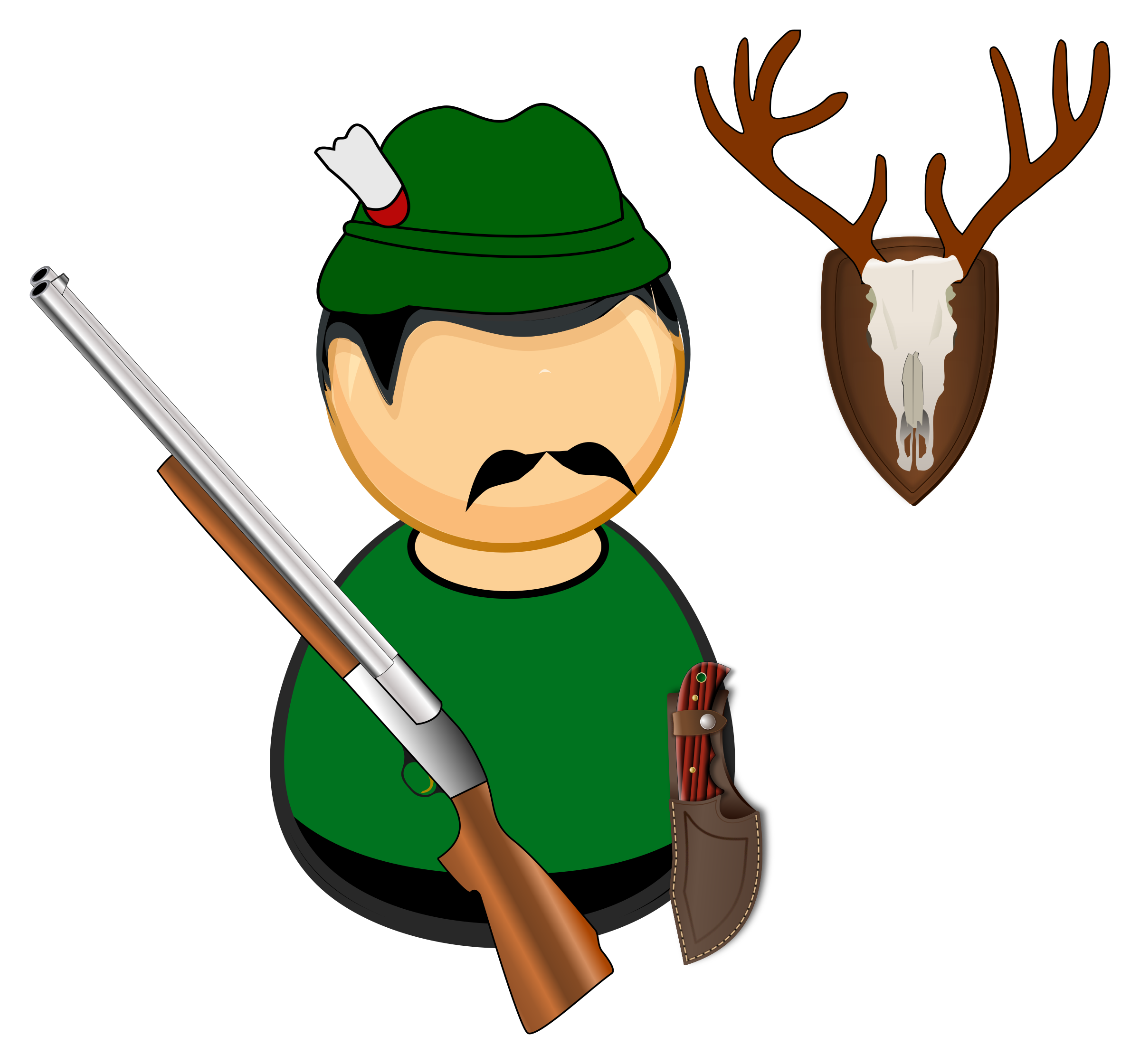 png library stock  collection of hunter. Hunting clipart.