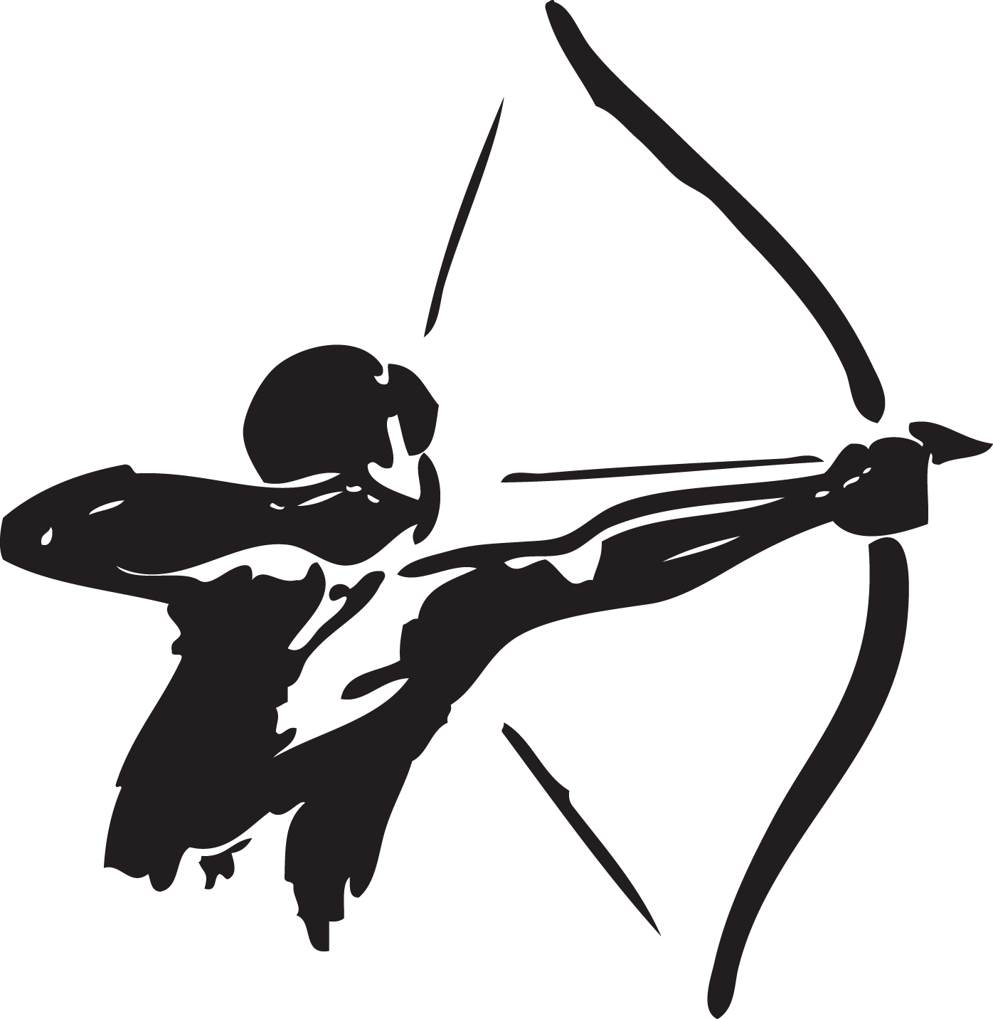 banner royalty free library And arrow hunting clip. Archery bow clipart