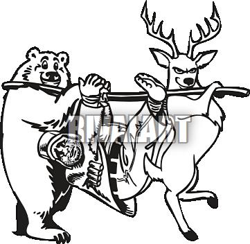 clip art stock Deer Hunting Clipart