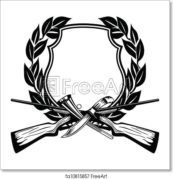 svg library Hunting vector. Free art print of