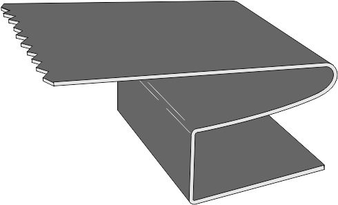 clip transparent hurricane clip plywood #98003928
