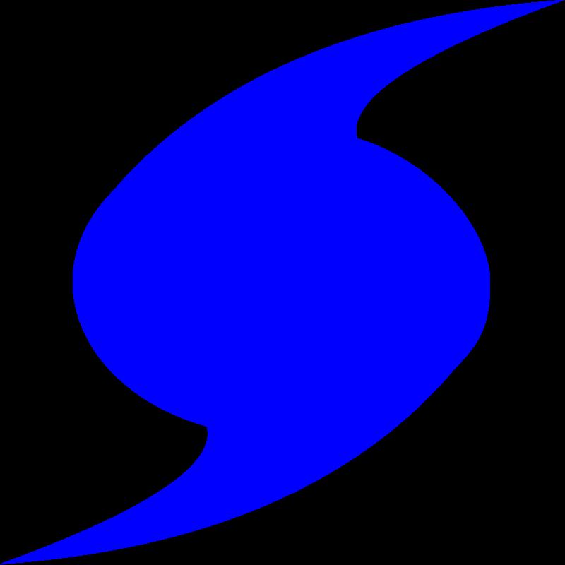 vector royalty free library Clip art symbol panda. Hurricane clipart