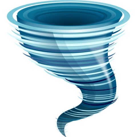 clipart black and white hurricane free png