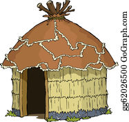 graphic freeuse Hut clipart. Clip art royalty free.