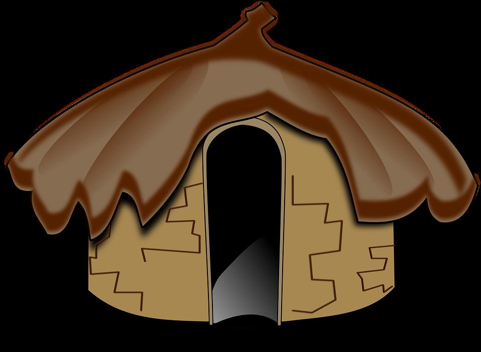 jpg download Bungalow clipart hut