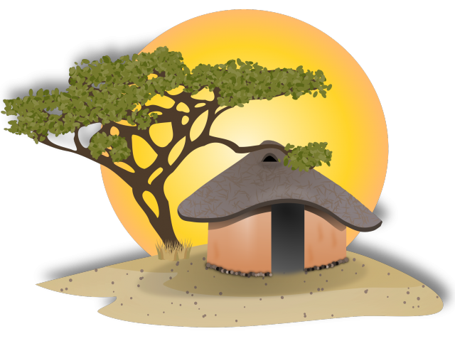 graphic stock Hut clipart choza. Free on dumielauxepices net