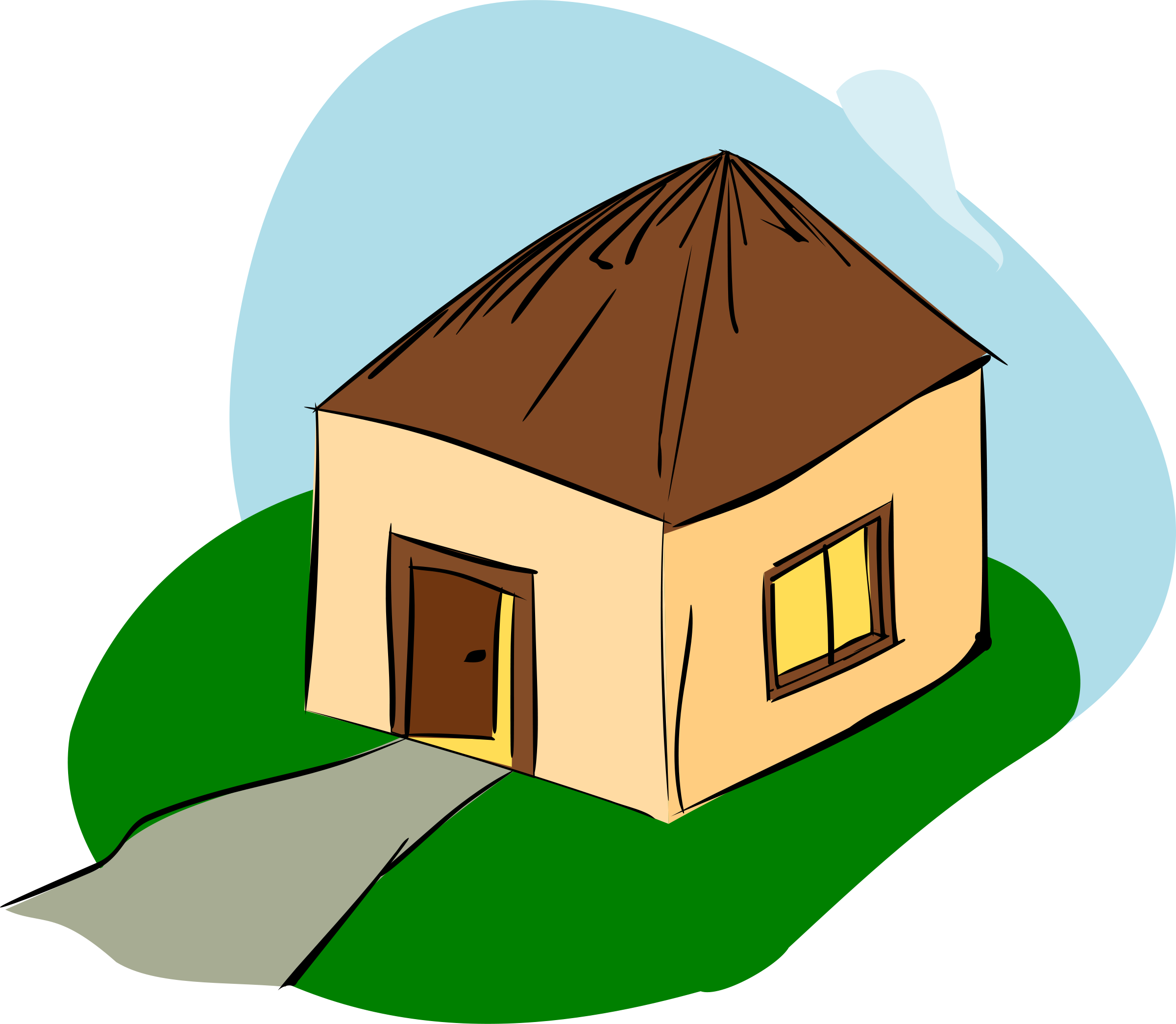 freeuse library Free cliparts download clip. Hut clipart desert house