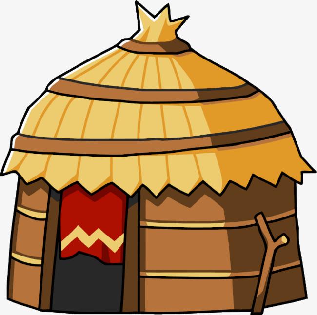 jpg free stock Hut clipart desert house. Transparent free