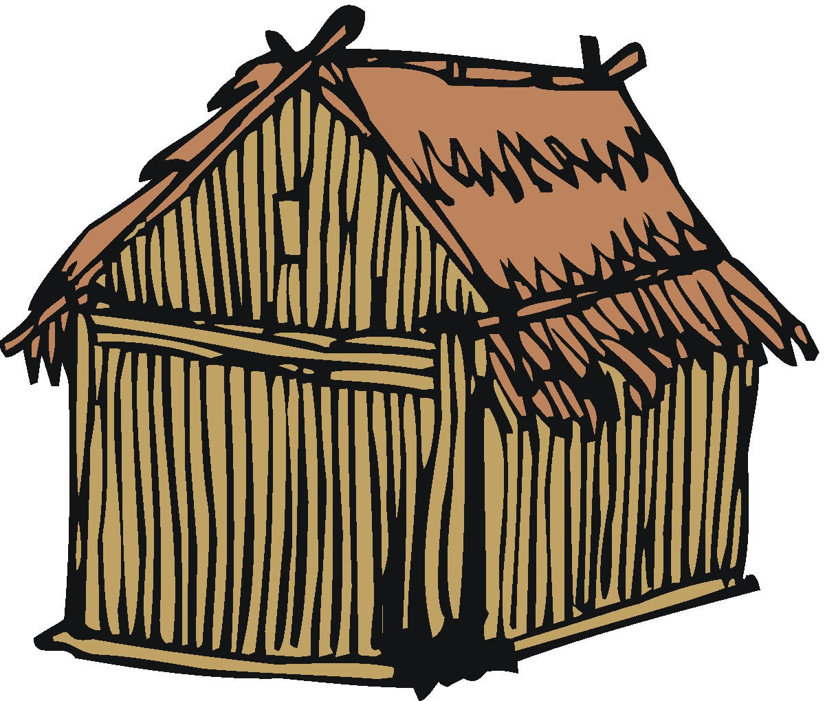 clip royalty free Hut clipart desert house. Free clip art library