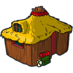 svg royalty free library Large Hut Icon