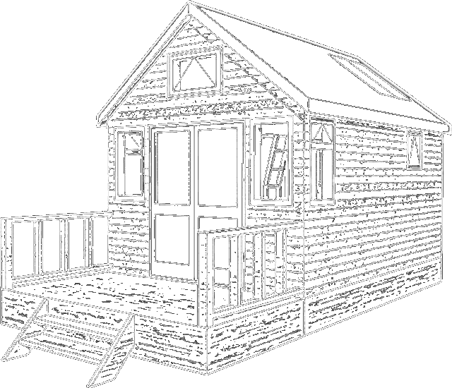 picture freeuse download Hut Drawing at GetDrawings