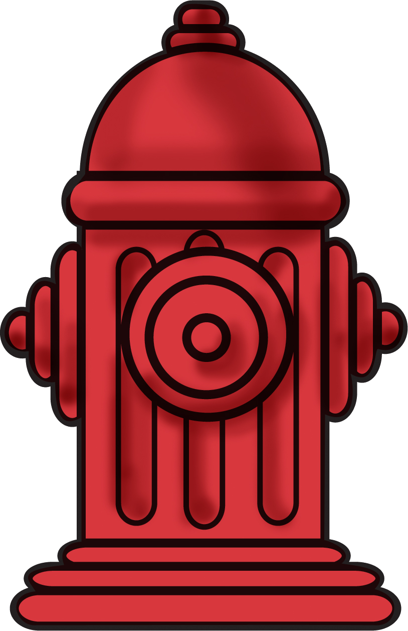 vector library Hydrant clipart. Fire png images free.