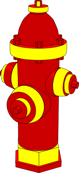 image transparent Hydrant clipart. Fire clip art panda.