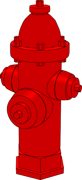 vector library stock Fire clip art at. Hydrant clipart