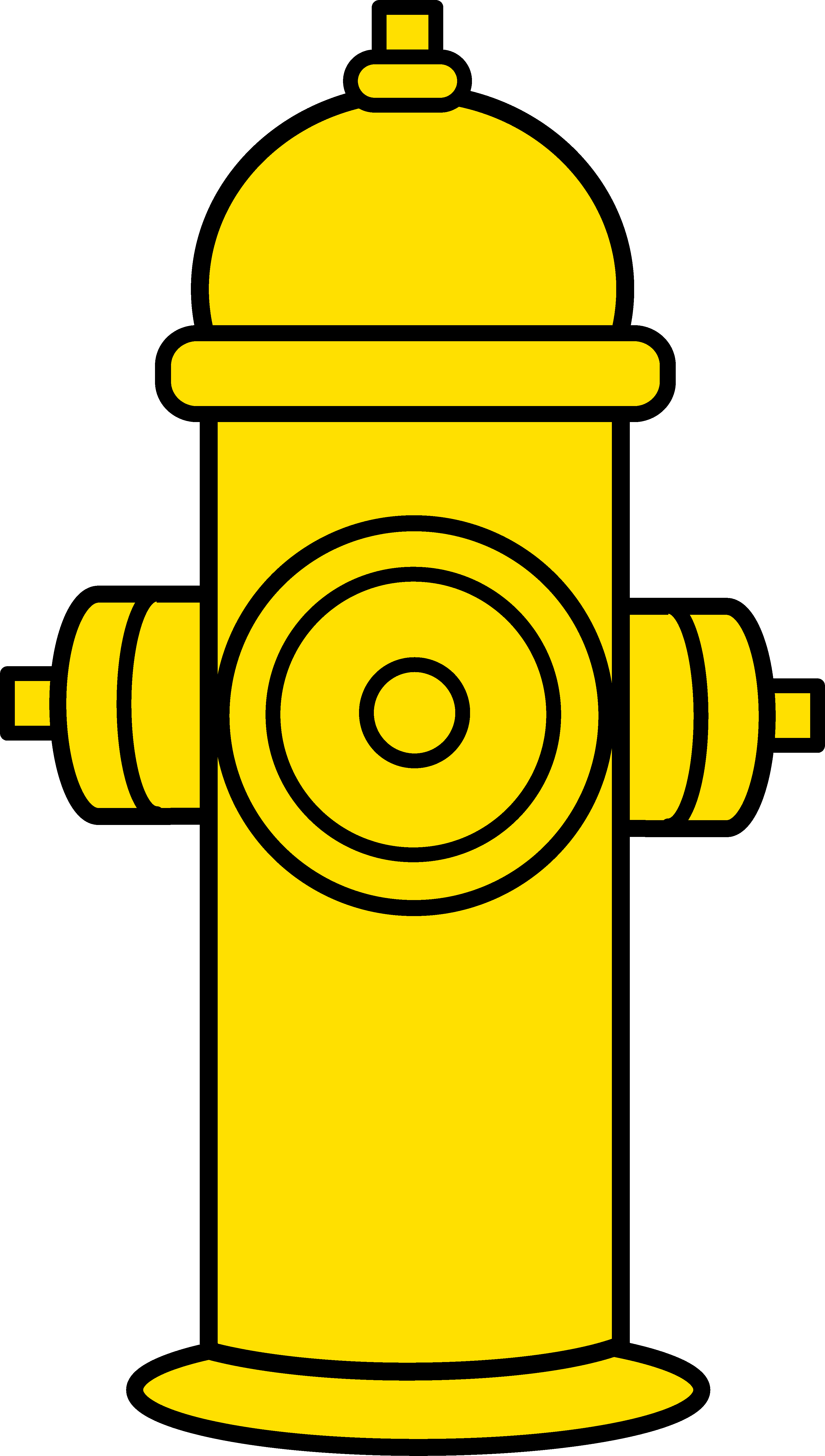png transparent stock Yellow fire . Hydrant clipart.