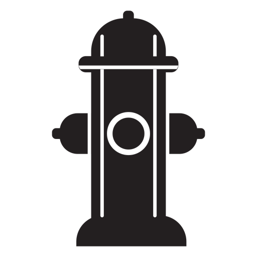 banner black and white library Fire hydrant icon
