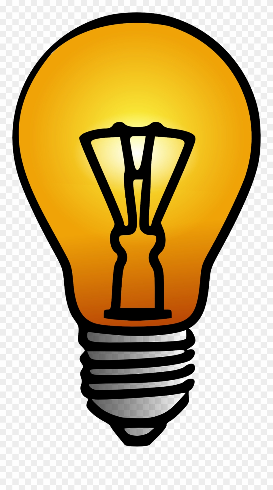 png freeuse Situation bulb png download. Hypothesis clipart.