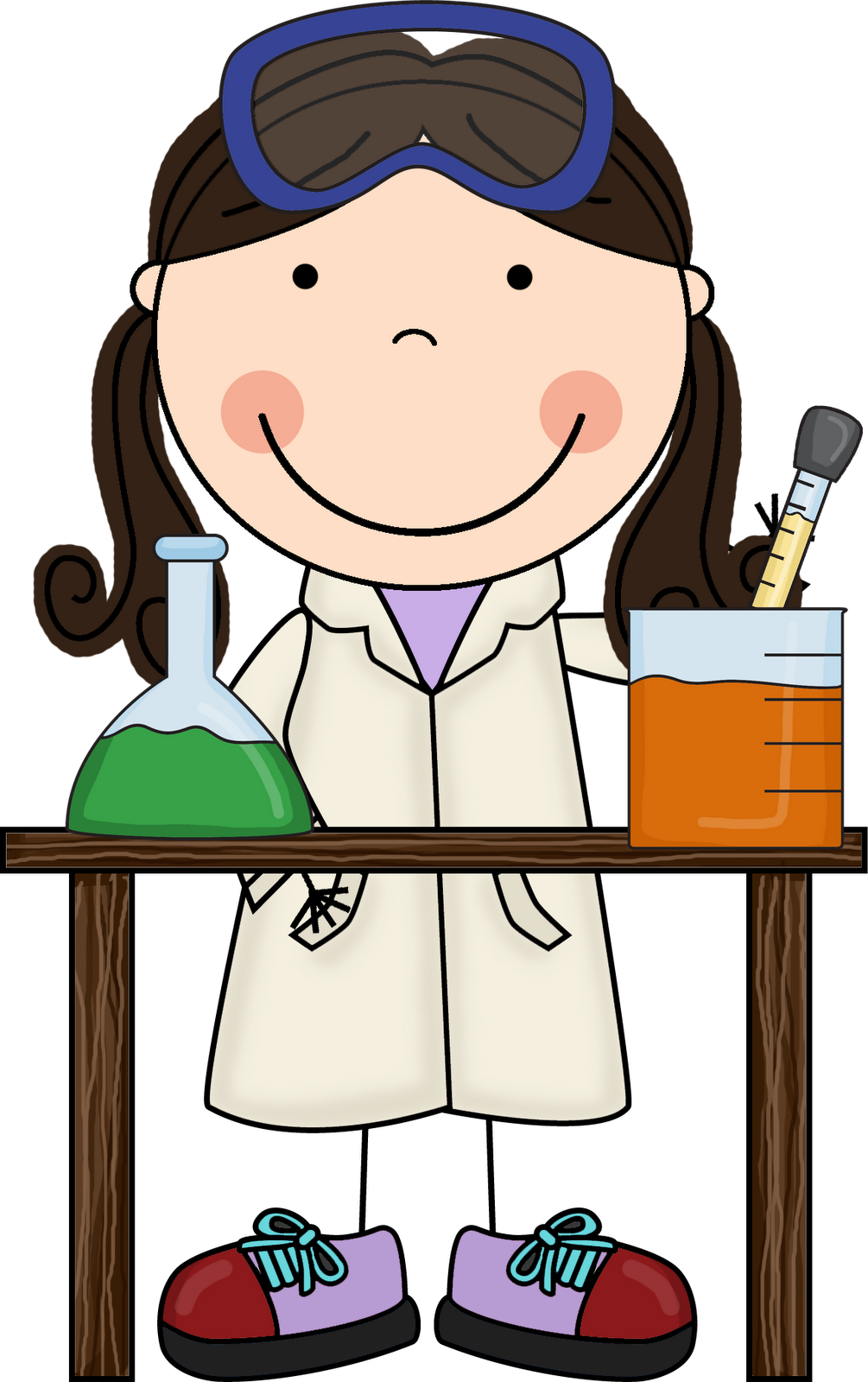 image transparent library Little miss hypothesis looks. Science lab materials clipart