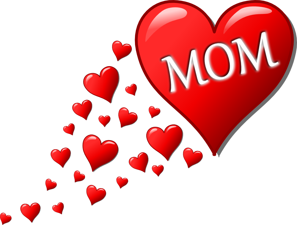 banner black and white library I Love Mom Clipart at GetDrawings
