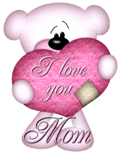 vector black and white stock Images of I Love You Mom Graphics