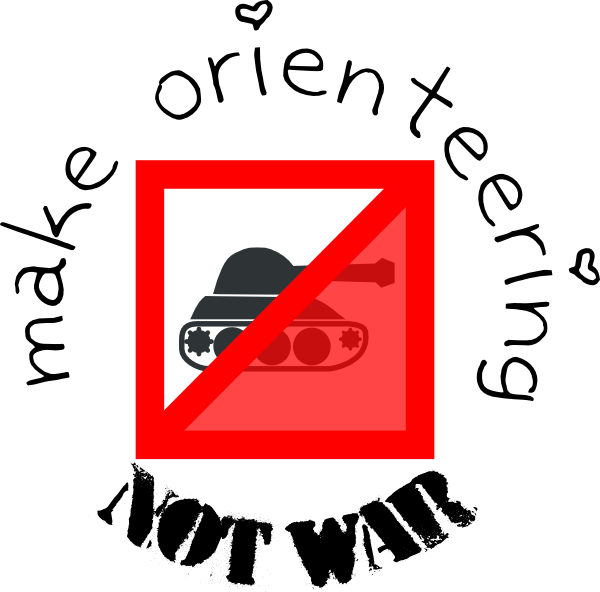 svg freeuse stock Make Orienteering And Not War Clip Art at Clker