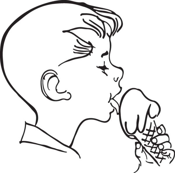svg library download  ra boy licks. Black and white ice cream clipart
