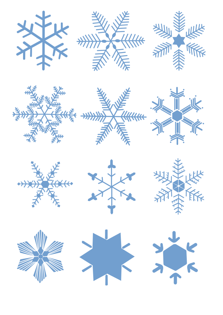picture royalty free download Ice crystal snowflakes png. Snowflake border clipart transparent background