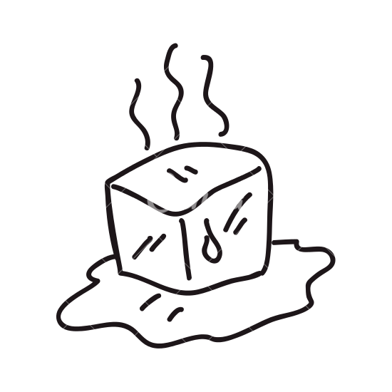 image free Ice cube clipart black and white. Drawing at getdrawings com