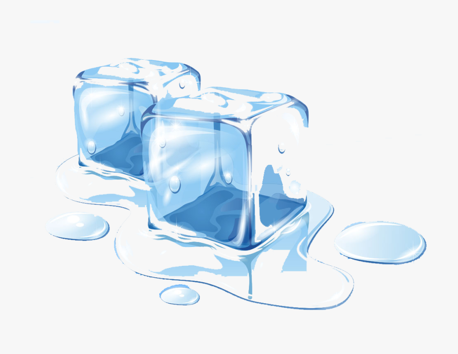 clip black and white download Ice melting clipart. Clip art cube free